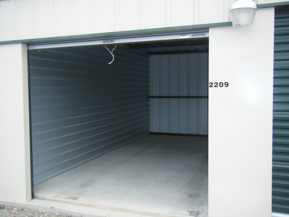 What is the cost of inside self storage?