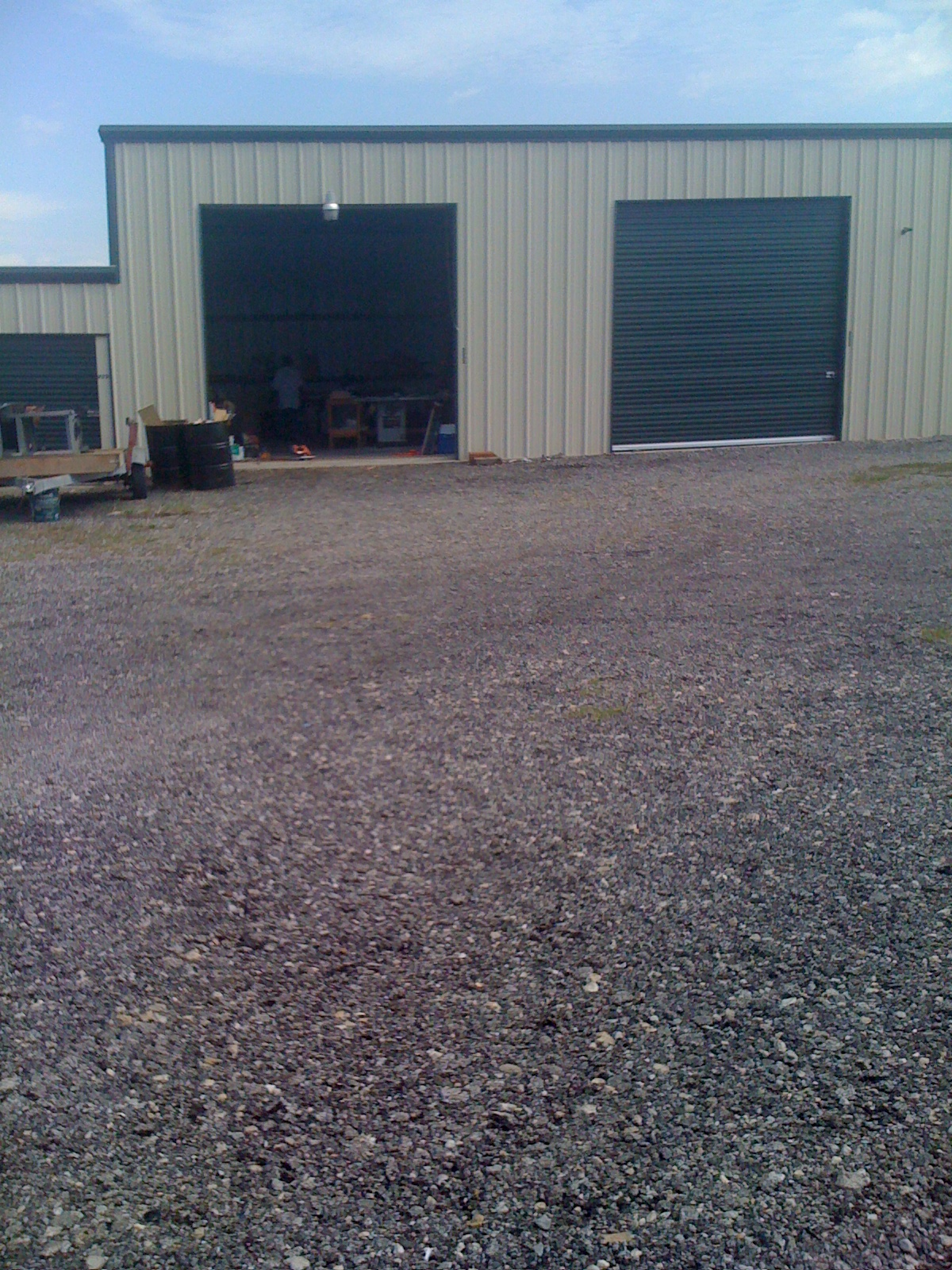 We have cheap storage for lawn furniture and other belongings.