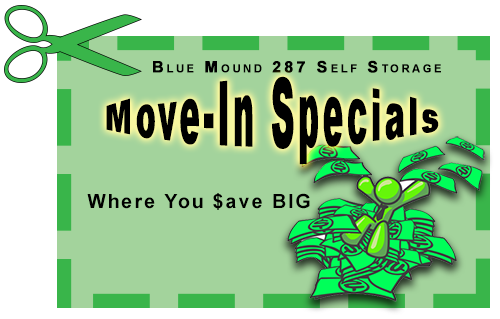 We offer climate controlled storage you can afford, and great move in specials are available
